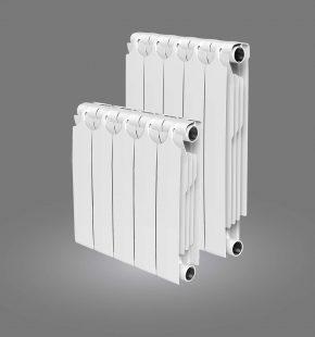 Биметаллический радиатор Теплоприбор BR-1 350 (4 секции)