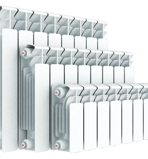 Алюминиевый радиатор Rifar Base 500 14 секций