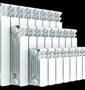 Алюминиевый радиатор Rifar Base 350 10 секция