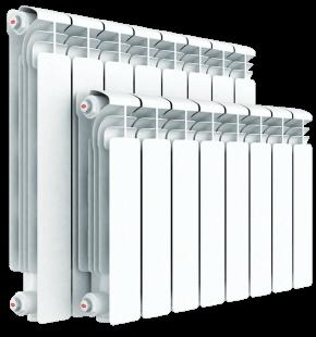 Алюминиевый радиатор Rifar Alum 350 9 секций