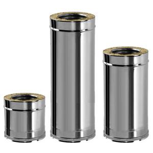 Труба двустенная стальная с изоляцией DTH 250