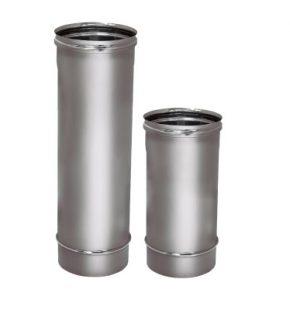 Дымоход Вулкан Труба одностенная стальная THR 500